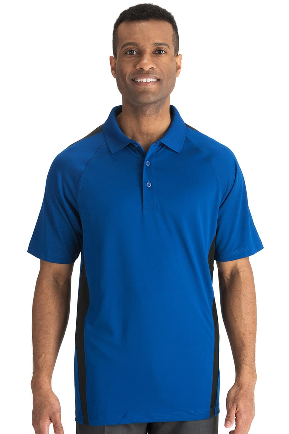 ULTIMATE SNAG-PROOF POLO-COLOR BLOCK