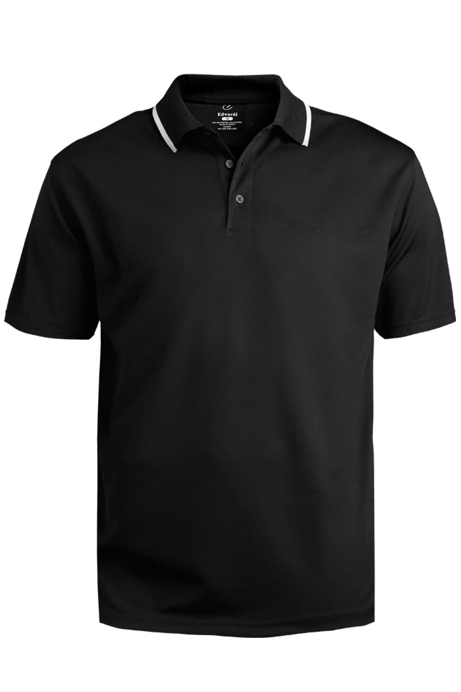 HI-PERFORMANCE MESH POLO - TIPPED COLLAR
