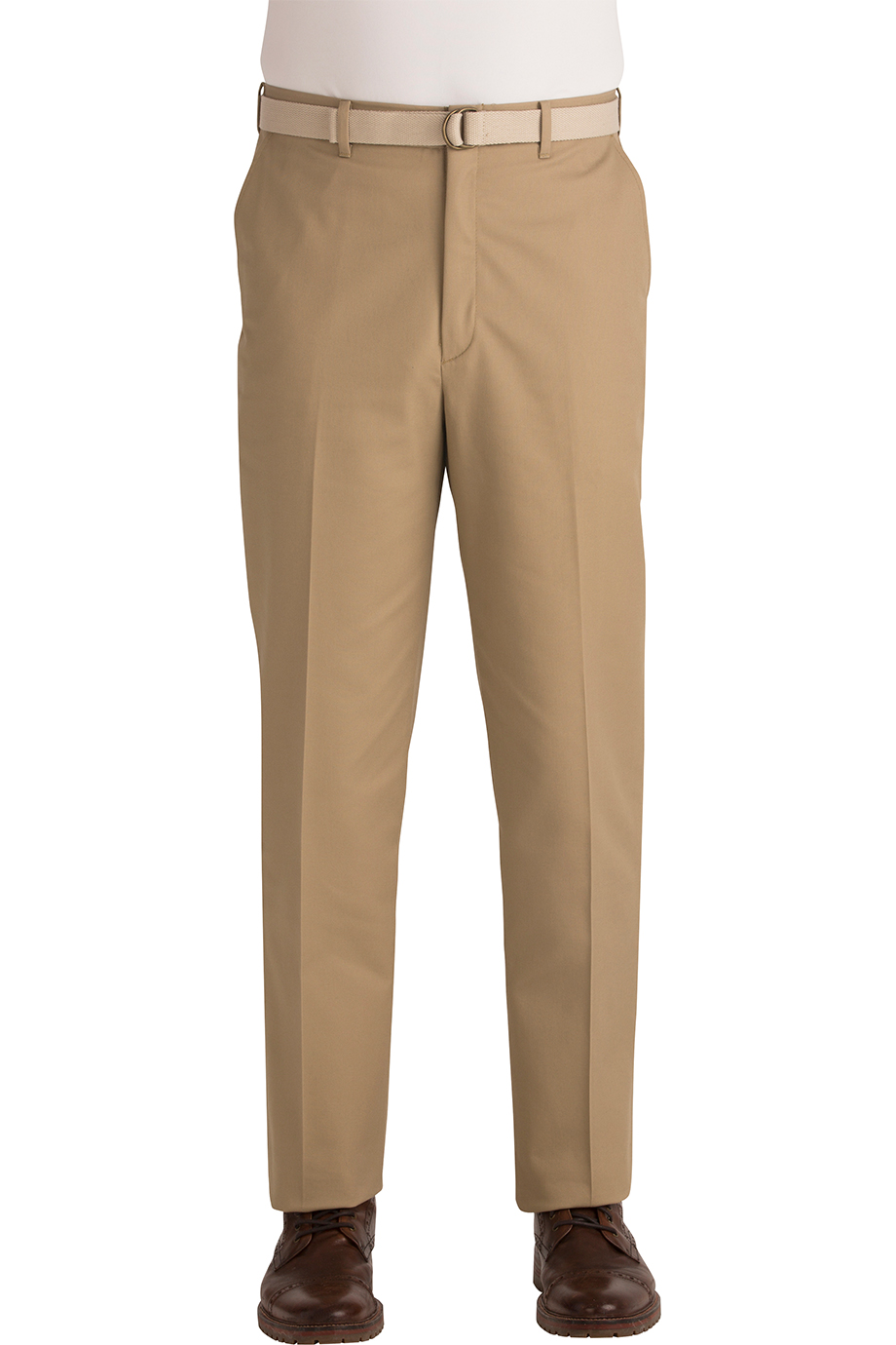 BUSINESS CHINO FLAT FRONT PANT