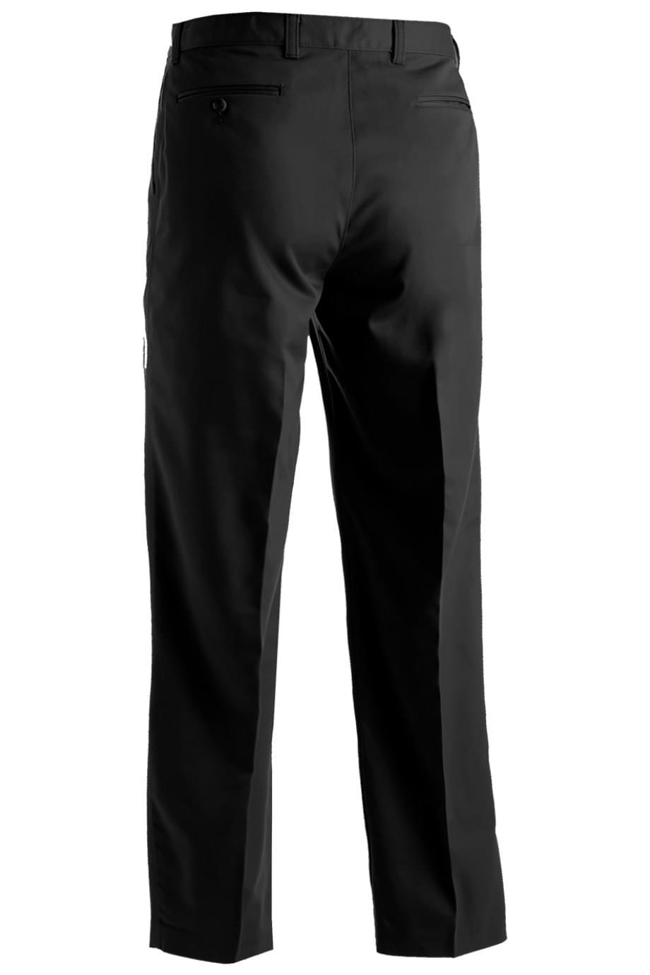 MICROFIBER FLAT FRONT DRESS PANT