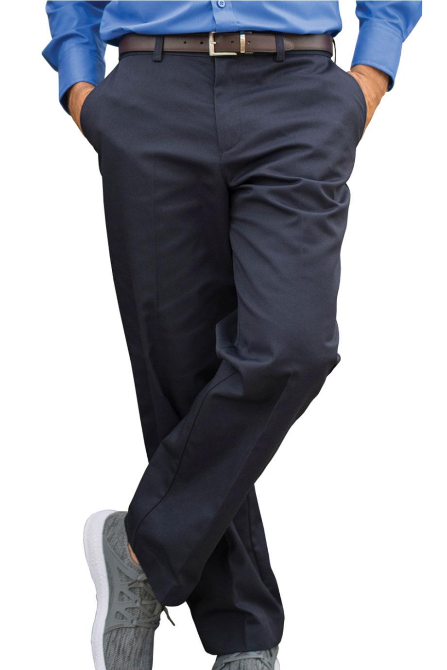 UTILITY CHINO FLAT FRONT PANT