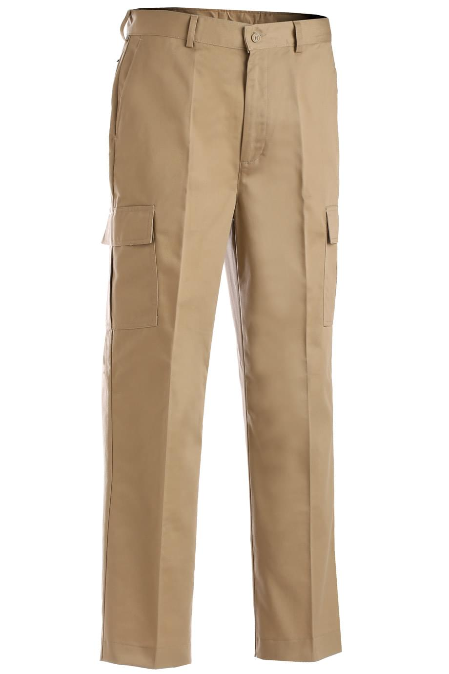 UTILITY CARGO FLAT FRONT PANT