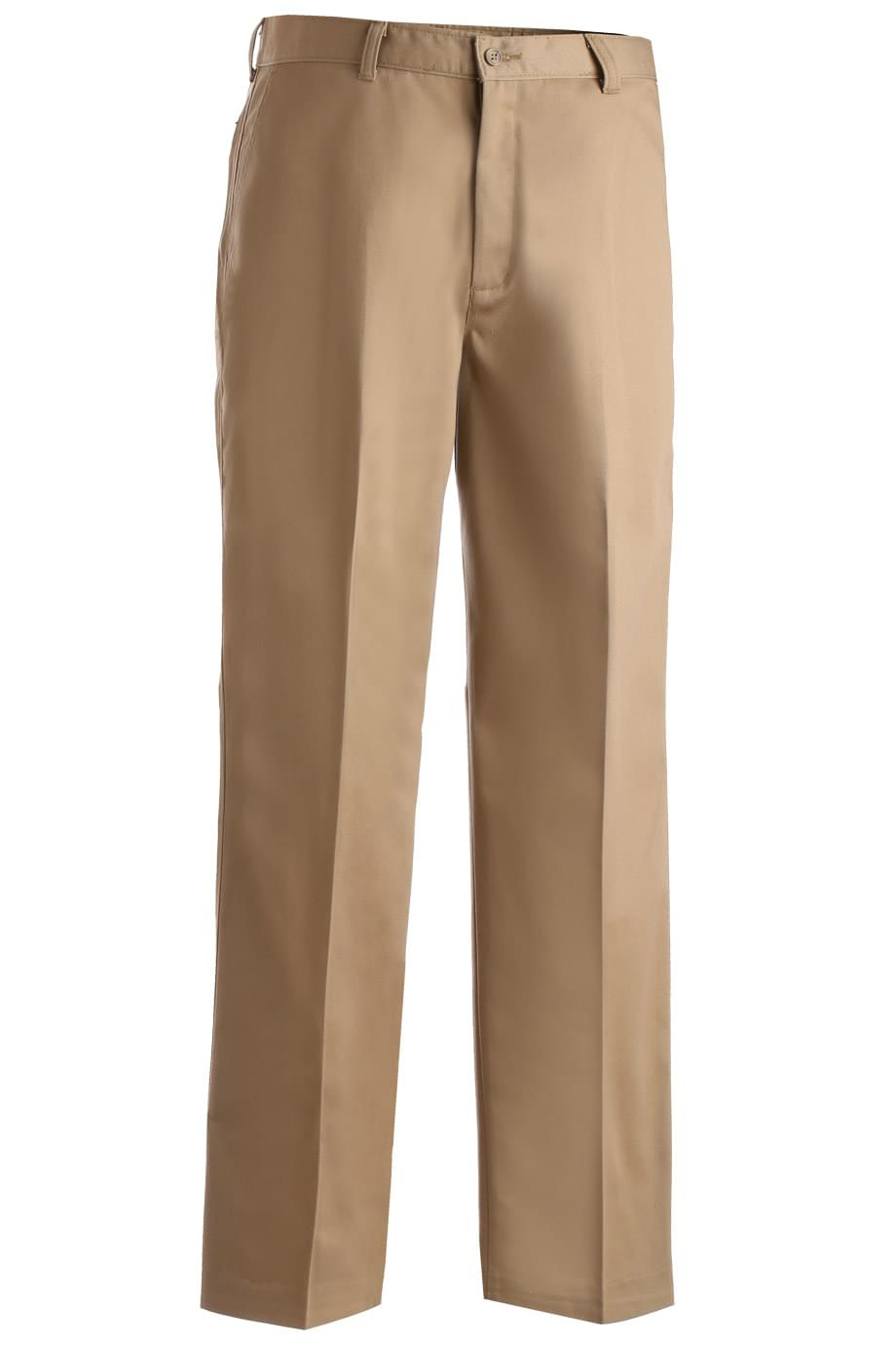 MEN'S UTILITY FLAT FRONT CHINO PANT