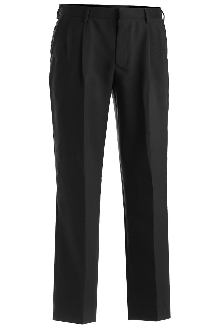 POLYESTER PLEATED FRONT PANT
