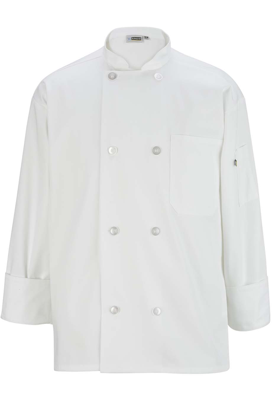 CASUAL CHEF COAT - 8-BUTTON