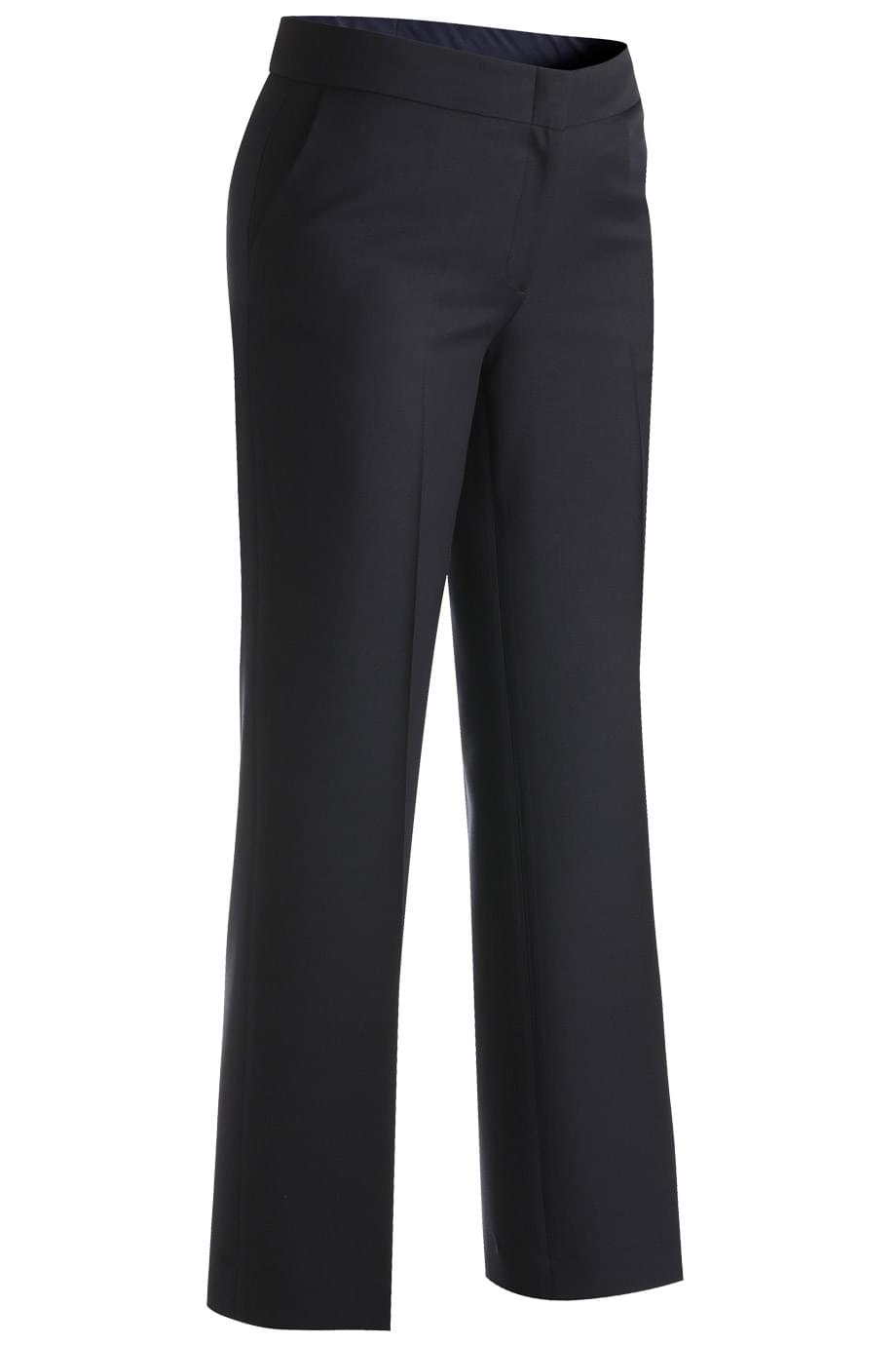 LADIES' FLAT FRONT DRESS PANT WITH SYNERGY FABRIC