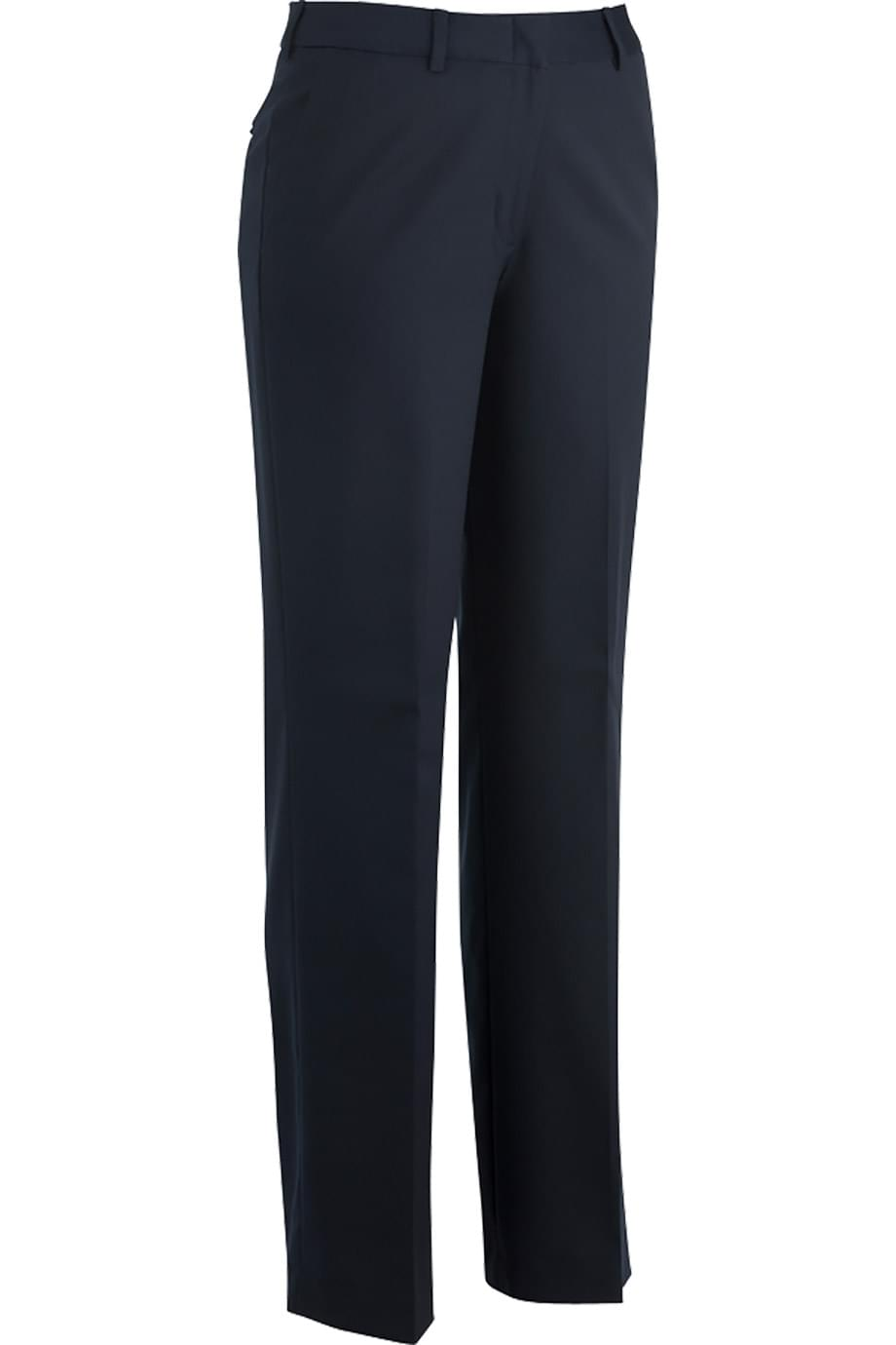 LADIES' FLAT FRONT DRESS PANT WITH RUSSEL FABRIC