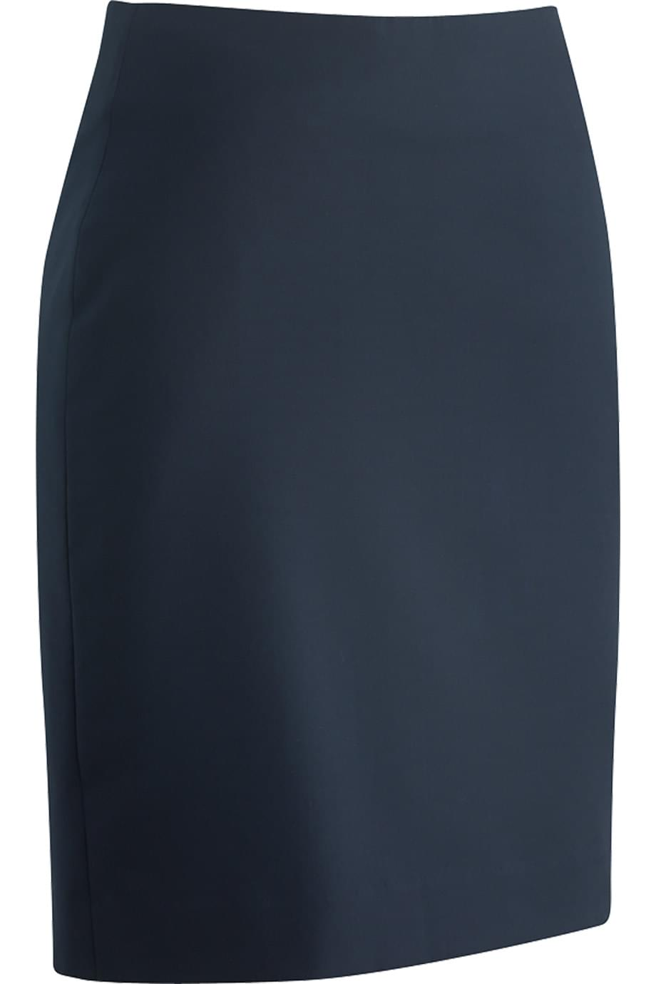 LADIES' STRAIGHT LINE SKIRT WITH RUSSEL FABRIC