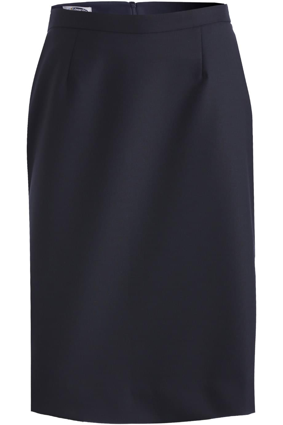 LADIES' STRAIGHT SKIRT WITH SIGNATURE FABRIC