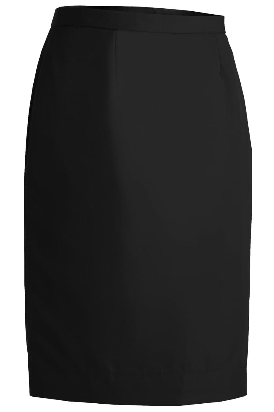 LADIES' POLYESTER STRAIGHT SKIRT