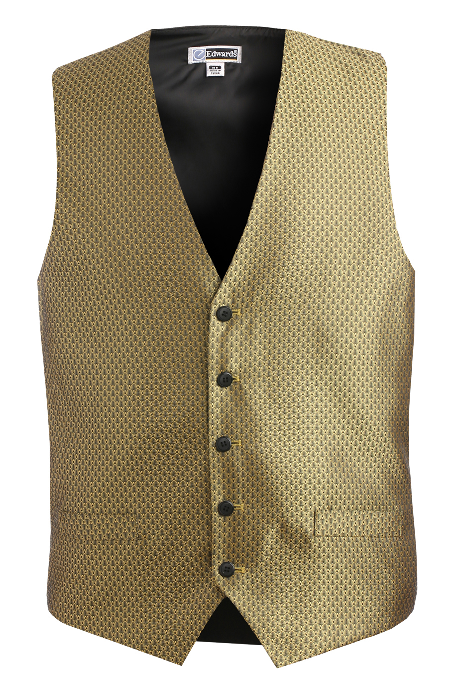 DIAMOND BROCADE VEST