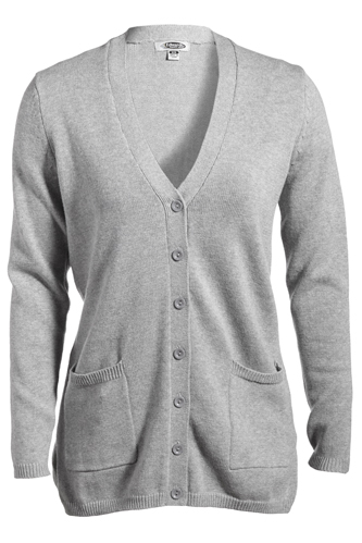 JERSEY KNIT LONG CARDIGAN WITH POCKETS
