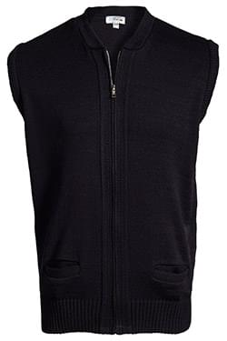 HEAVYWEIGHT ACRYLIC FULL ZIP VEST