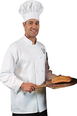 CLASSIC CHEF COAT - 10-KNOT BUTTONS