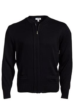 HEAVYWEIGHT ACRYLIC FULL ZIP CARDIGAN