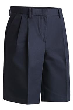 BUSINESS CHINO PLEATED FRONT SHORT